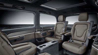 2019 Mercedes V Class Facelift Rear Seats