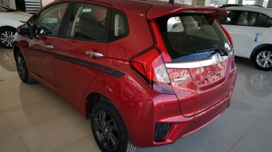 Honda Jazz Exclusive Edition Rear Three Quarters