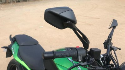 2019 Bajaj Dominar 400 Revealed Rear View Mirror M