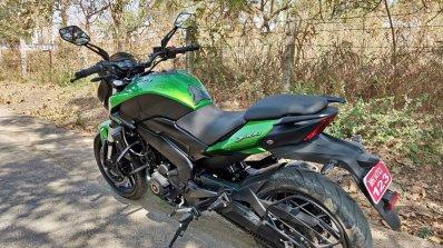 2019 Bajaj Dominar 400 Review Still Shots Left Rea