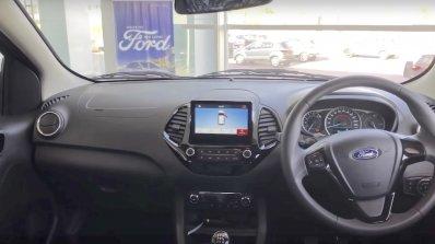 2019 Ford Figo Facelift Interior Spy Photo