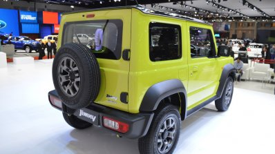 Suzuki Jimny Images Bims 2019 Rear Three Quarters