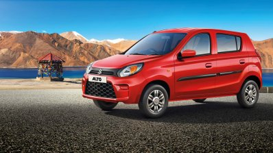 2019 Maruti Alto Facelift Front Three Quarters Ban