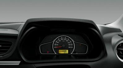 2019 Maruti Alto Facelift Instrument Panel