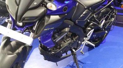 Yamaha Mt 15 Blue Left Front Quarter