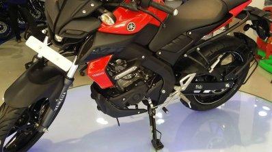 Yamaha Mt 15 Red Left Front Quarter