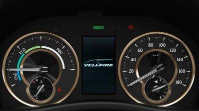 Toyota Vellfire Instrument Cluster