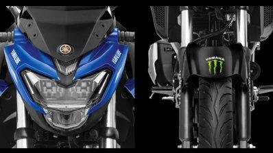 Yamaha Yzf R15 V3 0 Fz 25 And Cygnus Ray Zr Motogp Edition