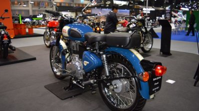 Royal Enfield Classic 500 Lagoon Rear Left Quarter