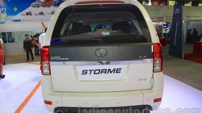 2015 Tata Safari Storme Facelift Rear At The 2015