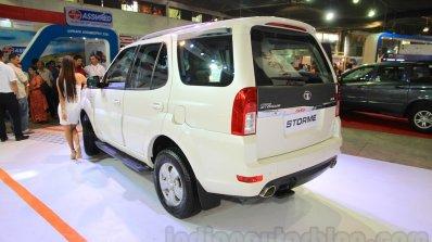 2015 Tata Safari Storme Facelift Rear Three Quarte