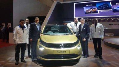 Tata Altroz Front Image 2019 Geneva Motor Show 667