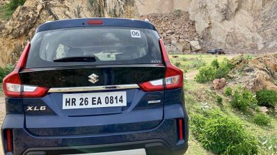Maruti Xl6 Test Drive Review Images Rear 1 Dac9