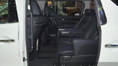 Toyota Vellfire Interior At The 2015 Bangkok Motor