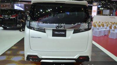 Toyota Vellfire Rear At The 2015 Bangkok Motor Sho