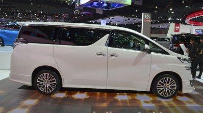 Toyota Vellfire Side At The 2015 Bangkok Motor Sho