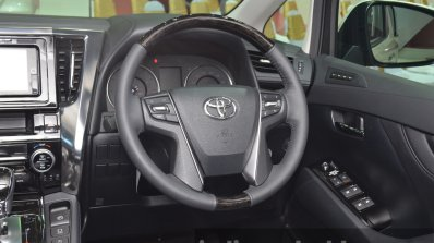 Toyota Vellfire Steering Wheel At The 2015 Bangkok