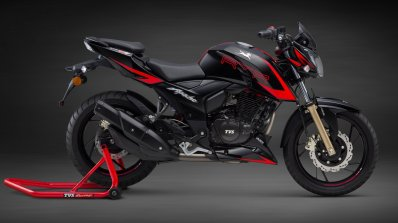 Tvs Apache Rtr 200 4v Race Edition 2 0 Side View