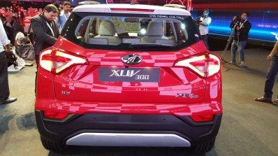 Mahindra Xuv300 Rear Live Image Ddba