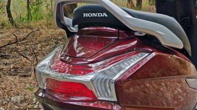 Bs Vi Honda Activa 125 Review Detail Shots Rear Se