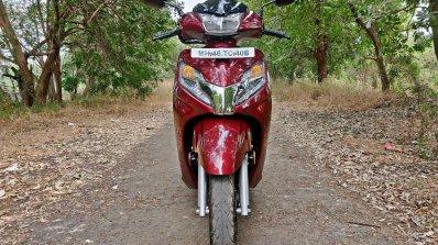 Bs Vi Honda Activa 125 Review Still Shots Front