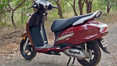 Bs Vi Honda Activa 125 Review Still Shots Left Rea