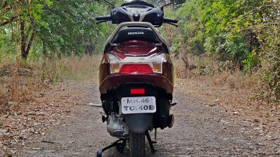 Bs Vi Honda Activa 125 Review Still Shots Rear