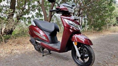 Bs Vi Honda Activa 125 Review Still Shots Right Fr