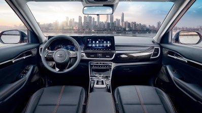 2020 Kia Kx3 Kia Seltos Interior Dashboard Officia