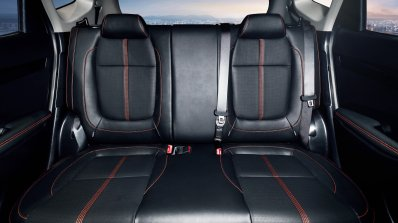2020 Kia Kx3 Kia Seltos Rear Seats