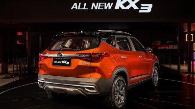2020 Kia Kx3 Kia Seltos Rear Three Quarters Debut