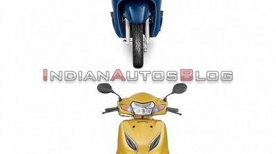 Honda Activa 6g Vs Honda Activa 5g Front Profile A