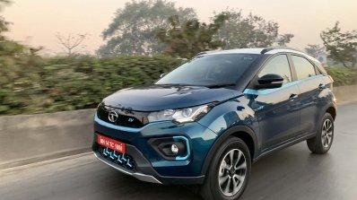 Tata Nexon Ev Image Front Three Quarters Action 5