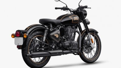 Royal Enfield Classic 500 Tribute Black Rear Three