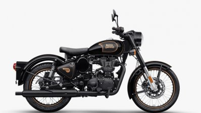 Royal Enfield Classic 500 Tribute Black Side Profi