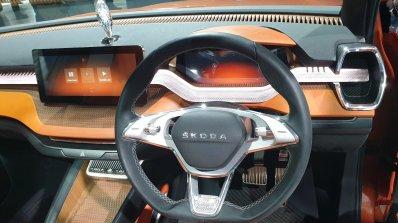 Skoda Vision In Concept Dashboard Driver Side