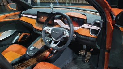 Skoda Vision In Concept Interior Dashboard