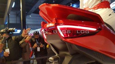 Aprilia Srx 160 Auto Expo 2020 Taillight