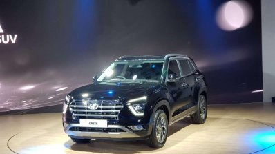 2020 Hyundai Creta Front Three Quarters Left Side
