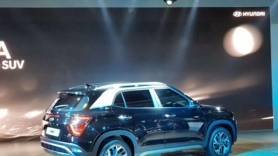 2020 Hyundai Creta Rear Three Quarters Auto Expo 2