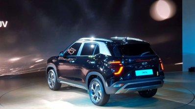 2020 Hyundai Creta Rear Three Quarters Left Side A