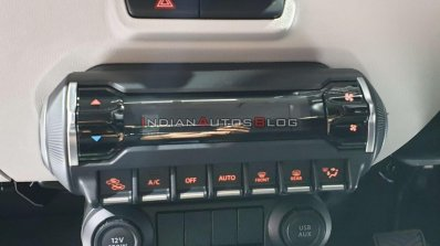2020 Maruti Ignis Facelift Climate Control System