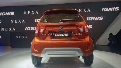 2020 Maruti Ignis Facelift Rear Auto Expo 2020