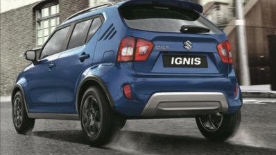 2020 Maruti Ignis Facelift Rear Three Quarters