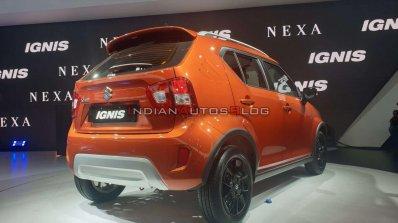 2020 Maruti Ignis Facelift Rear Three Quarters Rig