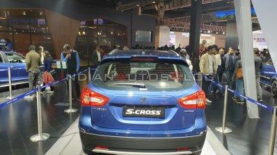 Maruti Suzuki S Cross Petrol Rear Auto Expo 2020 1