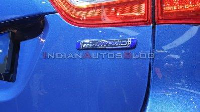 Maruti Suzuki S Cross Petrol Tail Light Auto Expo