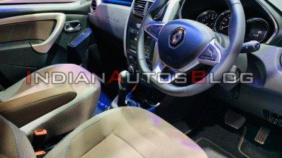Renault Duster Turbo Petrol Interior Auto Expo 202