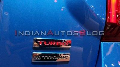 Renault Duster Turbo Petrol Turbo X Tronic Badges