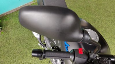 Bajaj Pulsar 125 Detail Shots Rear View Mirror 5e4